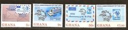 Ghana 1974 Yvertn° 495-498 *** MNH Cote 22 FF UPU - Ghana (1957-...)