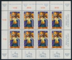 """Österreich Austria 1999 ANK 2320 Mi 2289 Kleinbogen M/S """"K+I"""" MNH - Blokken & Velletjes"""