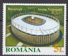 Romania MNH Soccer Stamp