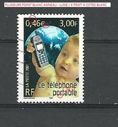 2001 N° 3374  LE TELEPHONE PORTABLE PHOSPHORESCENTE DESCRIPTION