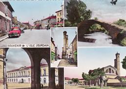 CPSM Dentelée (32)  Souvenir De L' ISLE JOURDAIN Carte Multi Vues Vues Multiples - Otros Municipios