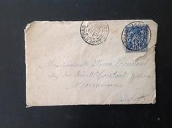 LetDoc. 284. Lettre Sur 15c De Carpentra Vers Momoiron En 1888