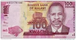 MALAWI 100 KWACHA 2012 P-59a UNC  [MW152a] - Malawi