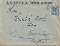 1400x: Ermäßigter Grenzverkehr Österreich- Liechtenstein, RL- Rayon Limitrophe (Katalogwert 230.- €), Marke Beschäd