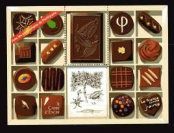 Francia ** - Foglietti Offerti Da Phil@poste Le Chocolat - Mint/Hinged