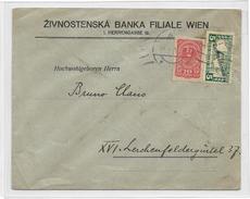 1400u: Österreich- Bedarfspost Aus Der Inflationszeit