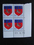France. Coin Daté 13/06/1978. YT. 1510 C**. Armoiries De La Ville De Saint-Lô.
