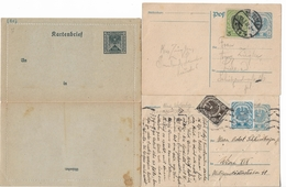 1400q: Österreich- Ganzsachen Aus Der Inflationszeit