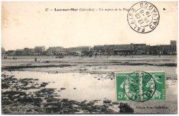 14 LUC-sur-MER - Un Aspect De La Plage   (Recto/Verso) - Luc Sur Mer