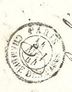 PARIS 75 CHAMBRE DES PAIRS LSC TAD 15 Du 14/05/1844 PP Taxe 5 Au Verso TTB