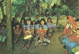 67155 COLOMBIA ANTIOQUIA URABA COSTUMES NATIVE INDIOS CUNAS POSTAL POSTCARD - Colombia