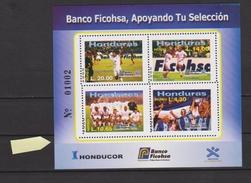 HONDURAS 2004  CALCIO FUTEBOL FUSSBALL VOETBAL SOCCER CUP COUPE VARIETE PERFORATION RRR