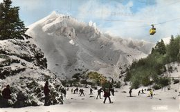 LE MONT DORE - Les Aiguilles Du Diable Et Le Téléfèrique - Le Mont Dore