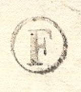 NIEVRE 58 NEVERS LAC TAD Type 12 Du 08/02/1836 Taxe 5 Tampon Décime Rural Rouge Boite Rurale F = Sermoise SUP