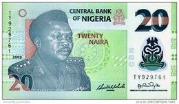 NIGERIA 20 NAIRA 2009 P-34e NEUF [NG232f] - Nigeria