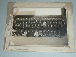 Rare Ancienne Photographie Photo Ecole Classe 1933, Sandillon Loiret 45, Enfants, Instituteurs - Photographs