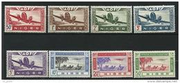"Niger Aerien YT 10 à 17 "" Avions "" 1942 Neuf**"