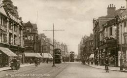 EAST YORKS - HULL - KING EDWARD STREET Ye384 - Hull