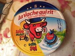 ETIQUETTE DE BOITE DE FROMAGE LA VACHE QUI RIT-(GAGNE UNE TROTTINETTE) - Fromage
