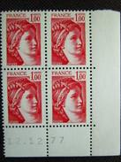 France. Coin Daté 12/12/1977. YT. 1972 **. Sabine De David.