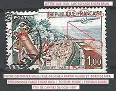 1962  N° 1355  LE TOUQUET PARIS PLAGE   DESCRIPTION