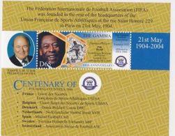 [D*] Gambia - Soccer, FIFA, Football, 2004 - Sc 2891 S/S MNH