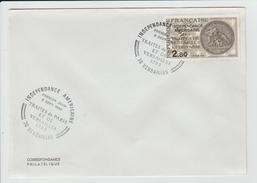 FRANCE - MARCOPHILIE - TIMBRE INDEPENDANCE AMERICAINE YVERT 2285 - CACHET VERSAILLES PREMIER JOUR