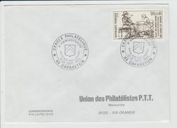 FRANCE - MARCOPHILIE - TIMBRE REMBRANDT YVERT 2258 - CACHET CAPBRETON CERCLE PHILATELIQUE