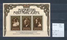Liechtenstein 1981 - Yv. Blok 14 Postfris/neuf/MNH