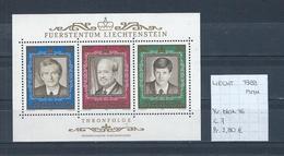 Liechtenstein 1988 - Yv. Blok 16 Postfris/neuf/MNH