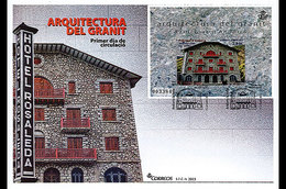 Andorra / Andorre - Postfris / MNH - FDC Sheet Architectuur 2015 - Andorre Espagnol