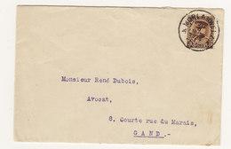 Brief Met Afstempeling Morlanwelz - Belgique