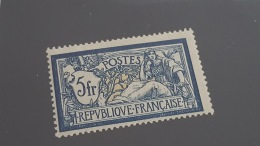 LOT 344665 TIMBRE DE FRANCE NEUF* N°123 VALEUR 100 EUROS