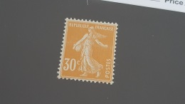 LOT 344677 TIMBRE DE FRANCE NEUF** N°141 VALEUR 35 EUROS