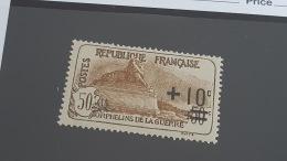 LOT 344689 TIMBRE DE FRANCE NEUF** N°167 VALEUR 65 EUROS