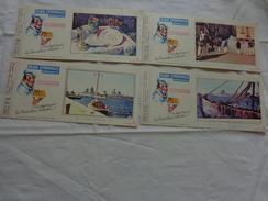 4 Buvards -flan Lyonnais N°15-17-14-6 - Buvards, Protège-cahiers Illustrés