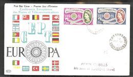 FDC EUROPA  1960