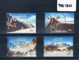 Australia 2013  AAT Mountains  4val F/used AA130 - Australian Antarctic Territory (AAT)