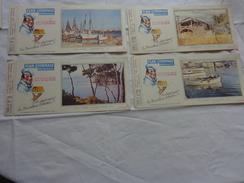 4 Buvards -flan Lyonnais N°22-23-3-5 - Buvards, Protège-cahiers Illustrés