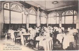 "HYERES --   ""Le GOLF-HOTEL "" Un Coin Du Restaurant - Hyeres"