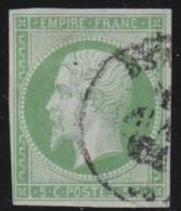 France    .     Yvert   .    12        .        O       .       Oblitéré   .     /    .   Cancelled