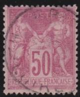 France    .     Yvert   .      104       .        O       .       Oblitéré   .     /    .   Cancelled