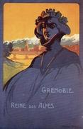 38 - GRENOBLE - CONCOURS DE TIR, JUIN 1911 - Illustrateur Andry FARCY - REINE Des ALPES