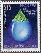AUTRICHE AUSTRIA OESTERREICH CEPT 2001 Set Neuf/mint