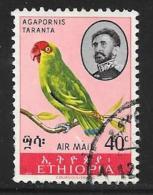 Ethiopia, Scott # C111 Used Bird, 1967, Crease