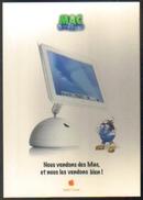 """Carte Postale """"Cart'Com"""" (2002) - Apple Center (ordinateur IMac) Mauguio - Publicité"""