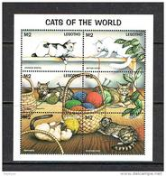 Lesotho 1998 Sc # Bf 1104   MNH **  Cats Of The World