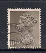 GB 1968 QE2 10d Drab Machin SG 741 ( M68 )