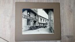 Photo Ancienne Manille Asie Philippine Voiture Ancienne Usine Atelier - Antiche (ante 1900)