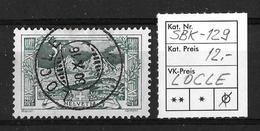 1914-1931 GEBIRGSLANDSCHAFTEN → SBK-129, LOCLE 30.X.16 - Gebraucht